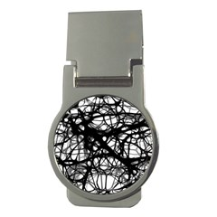 Neurons Brain Cells Brain Structure Money Clips (round)