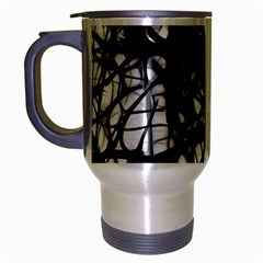Neurons Brain Cells Brain Structure Travel Mug (silver Gray)