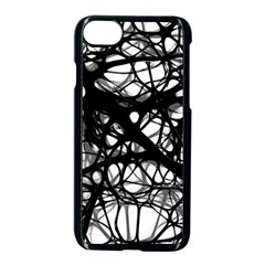 Neurons Brain Cells Brain Structure Apple Iphone 8 Seamless Case (black)