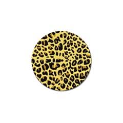 Animal Fur Skin Pattern Form Golf Ball Marker (4 Pack)