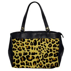 Animal Fur Skin Pattern Form Office Handbags
