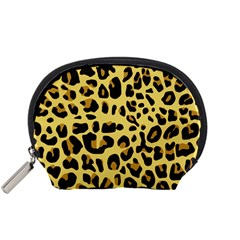 Animal Fur Skin Pattern Form Accessory Pouches (small)  by BangZart