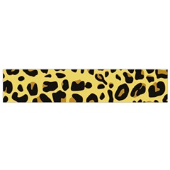 Animal Fur Skin Pattern Form Small Flano Scarf