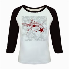 Christmas Star Snowflake Kids Baseball Jerseys