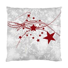 Christmas Star Snowflake Standard Cushion Case (one Side) by BangZart