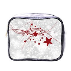 Christmas Star Snowflake Mini Toiletries Bags