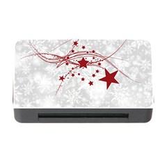 Christmas Star Snowflake Memory Card Reader With Cf