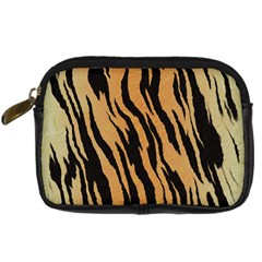 Animal Tiger Seamless Pattern Texture Background Digital Camera Cases