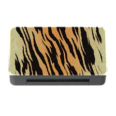 Animal Tiger Seamless Pattern Texture Background Memory Card Reader With Cf