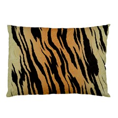 Animal Tiger Seamless Pattern Texture Background Pillow Case (two Sides)