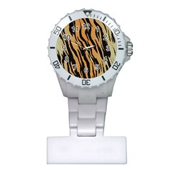 Animal Tiger Seamless Pattern Texture Background Plastic Nurses Watch