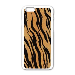 Animal Tiger Seamless Pattern Texture Background Apple Iphone 6/6s White Enamel Case by BangZart