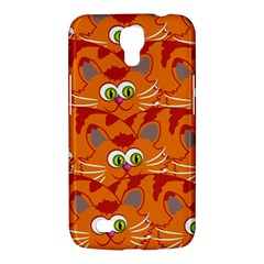 Animals Pet Cats Mammal Cartoon Samsung Galaxy Mega 6 3  I9200 Hardshell Case