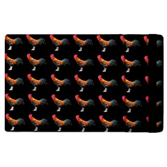 Background Pattern Chicken Fowl Apple Ipad 3/4 Flip Case