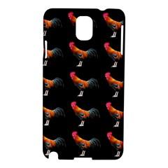 Background Pattern Chicken Fowl Samsung Galaxy Note 3 N9005 Hardshell Case