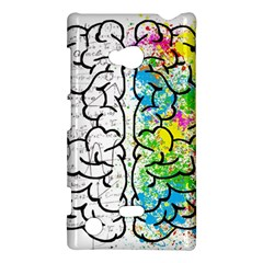 Brain Mind Psychology Idea Hearts Nokia Lumia 720 by BangZart