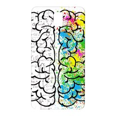 Brain Mind Psychology Idea Hearts Samsung Galaxy Note 3 N9005 Hardshell Back Case