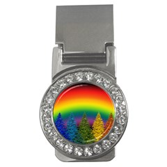Christmas Colorful Rainbow Colors Money Clips (cz)  by BangZart