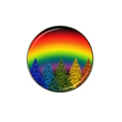 Christmas Colorful Rainbow Colors Hat Clip Ball Marker