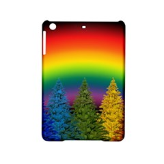 Christmas Colorful Rainbow Colors Ipad Mini 2 Hardshell Cases