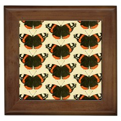 Butterfly Butterflies Insects Framed Tiles by BangZart