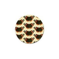 Butterfly Butterflies Insects Golf Ball Marker