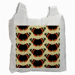 Butterfly Butterflies Insects Recycle Bag (two Side)  by BangZart