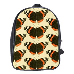 Butterfly Butterflies Insects School Bag (large)