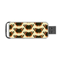 Butterfly Butterflies Insects Portable Usb Flash (one Side)