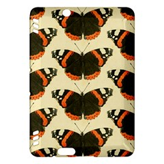 Butterfly Butterflies Insects Kindle Fire Hdx Hardshell Case by BangZart
