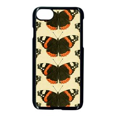 Butterfly Butterflies Insects Apple Iphone 8 Seamless Case (black)
