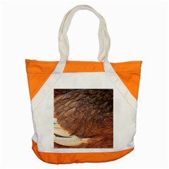 Feather Chicken Close Up Red Accent Tote Bag