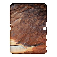 Feather Chicken Close Up Red Samsung Galaxy Tab 4 (10 1 ) Hardshell Case