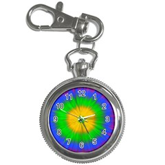Spot Explosion Star Experiment Key Chain Watches