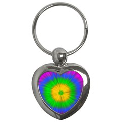 Spot Explosion Star Experiment Key Chains (heart)