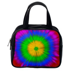 Spot Explosion Star Experiment Classic Handbags (one Side)