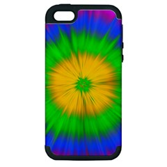 Spot Explosion Star Experiment Apple Iphone 5 Hardshell Case (pc+silicone)