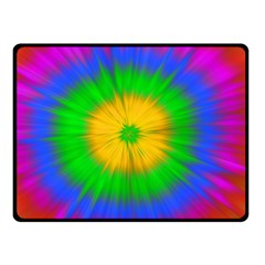 Spot Explosion Star Experiment Double Sided Fleece Blanket (small)