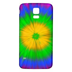 Spot Explosion Star Experiment Samsung Galaxy S5 Back Case (white) by BangZart