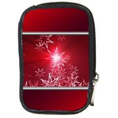 Christmas Candles Christmas Card Compact Camera Cases