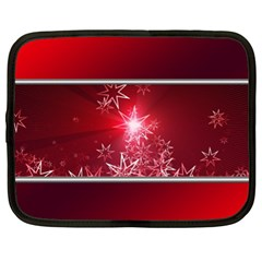 Christmas Candles Christmas Card Netbook Case (xl)  by BangZart