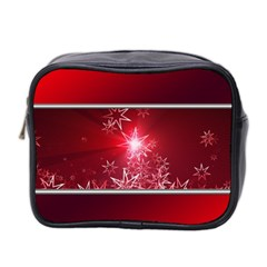 Christmas Candles Christmas Card Mini Toiletries Bag 2 Side
