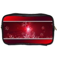 Christmas Candles Christmas Card Toiletries Bags 2 Side by BangZart
