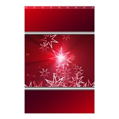Christmas Candles Christmas Card Shower Curtain 48  X 72  (small)  by BangZart