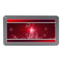 Christmas Candles Christmas Card Memory Card Reader (mini) by BangZart
