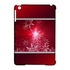 Christmas Candles Christmas Card Apple Ipad Mini Hardshell Case (compatible With Smart Cover) by BangZart
