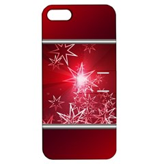 Christmas Candles Christmas Card Apple Iphone 5 Hardshell Case With Stand by BangZart