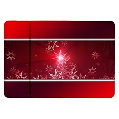Christmas Candles Christmas Card Samsung Galaxy Tab 8 9  P7300 Flip Case by BangZart