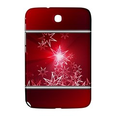 Christmas Candles Christmas Card Samsung Galaxy Note 8 0 N5100 Hardshell Case