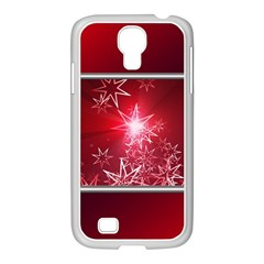 Christmas Candles Christmas Card Samsung Galaxy S4 I9500/ I9505 Case (white)